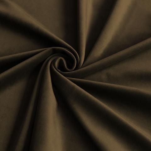 Портьерная ткань Тейлор коричневый
