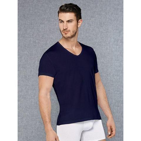 Мужская футболка темно-синяя Doreanse 2865