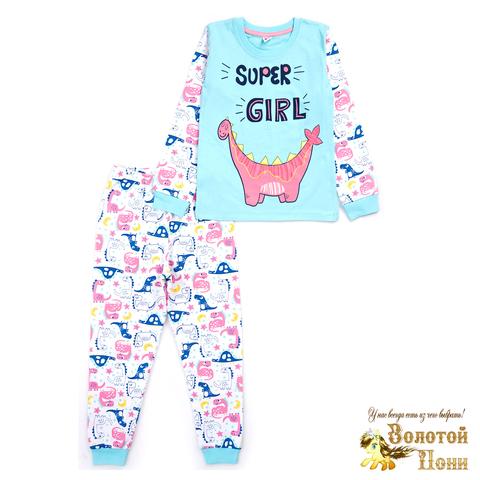 Пижама хлопок девочке (6-9) 210127-MD568