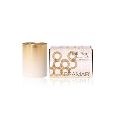 Embossed Roll Medium Holi-Yay  | Фольга в рулоне с тиснением «Золотая лихорадка»