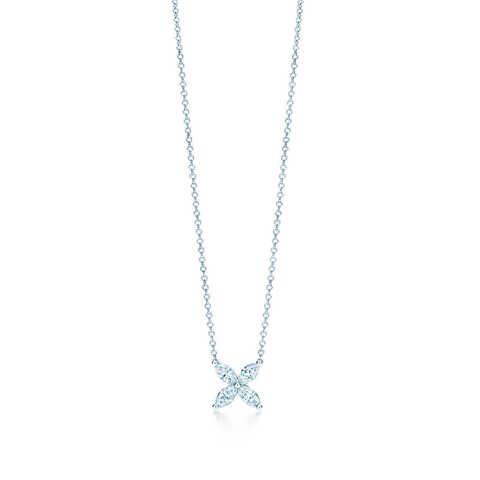 70454- Колье Victoria из серебра с цирконами