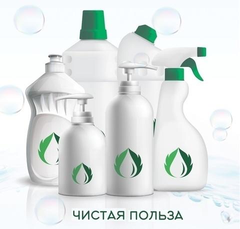Чистая польза  Средство для мытья посуды НЕЙТРАЛЬНОЕ  1 литр
