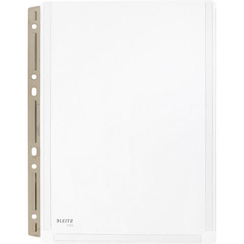 Файл-вкладыш Leitz А4 170 мкм прозрачный гладкий 3 штуки в упаковке