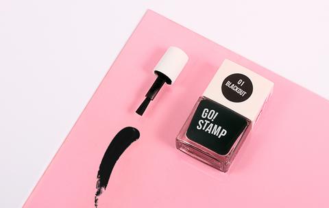Лак для стемпинга GO STAMP 01 Blackout 11мл