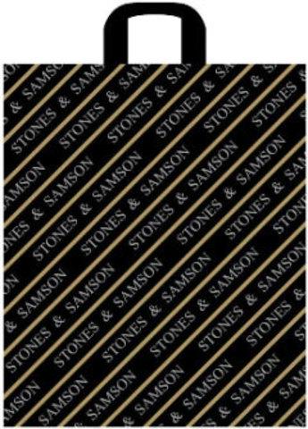 Пакет полиэтиленовый с петлевой ручкой 43х48+6 (45) Самсон лайт