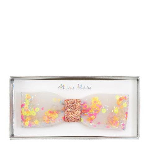 Заколка-пряжка для волос с бабочкой