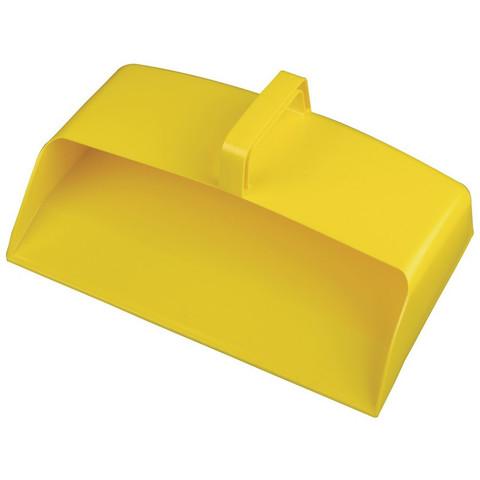 Совок Hillbrush закрытый 305x200 мм желтый
