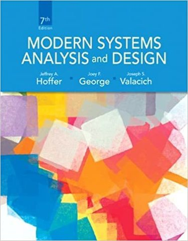 Книга Modern Systems Analysis and Design, Joffrey Hoffer, 7 edition купить