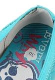 Балетки Монстер Хай (Monster High) лакированные для девочек, цвет голубой. Изображение 8 из 8.