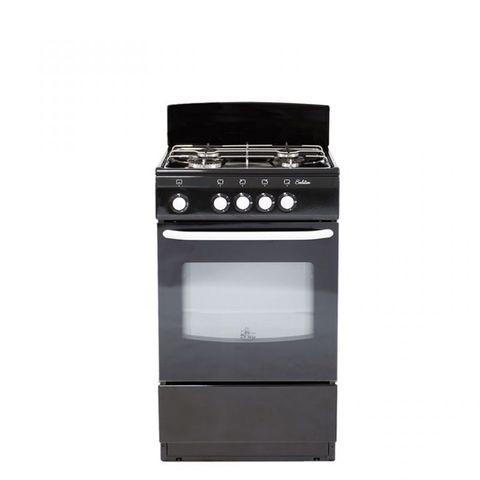 Плита газовая DeLuxe 5040.38 гщ черный