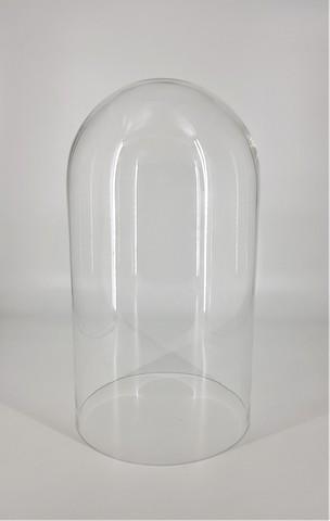 Стеклянная колба (Колпак, клош, купол, ваза, цилиндр) 18*30 см
