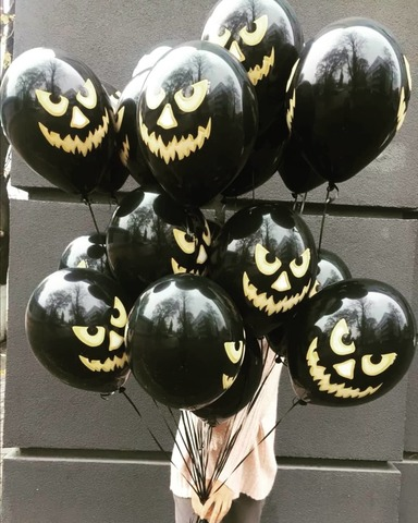 Шар на Хэллоуин с гелием