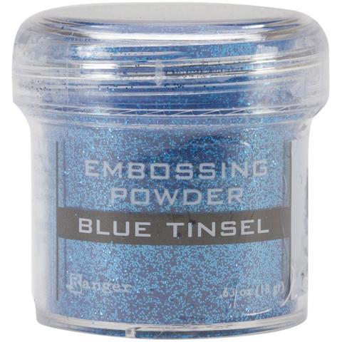Пудра для эмбоссинга Ranger Ink- Blue Tinsel