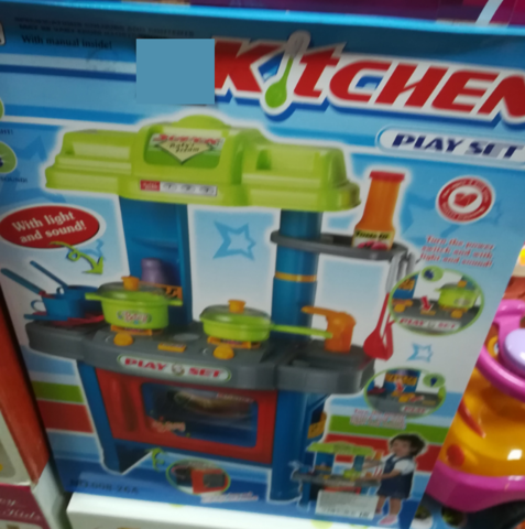 Современная кухня для девочек и мальчиков