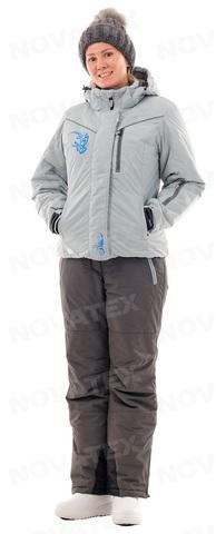 Костюм женский зимний Грация (таслан, светло-серый) PAYER