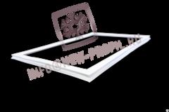 Уплотнитель 49*57 см для холодильника Индезит SB15.020 (морозильная камера) Профиль 022
