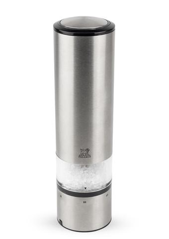 ELIS SENSE - Мельница для соли электрическая нерж.сталь 20 см (salt mill)