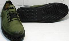 Сникерсы кроссовки мужские повседневныеuciano Bellini C2801 Nb Khaki.