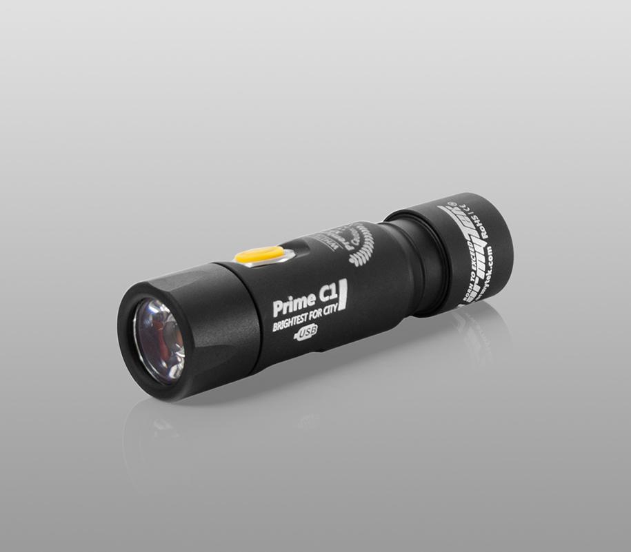 Фонарь на каждый день Armytek Prime C1 Magnet USB (тёплый свет) - фото 1
