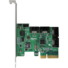 Адптер PCIe для SSD HighPoint Rocket 640L 4-Port SATA 6 Gbps PCIe 2.0 x4 Host Bus Adapter