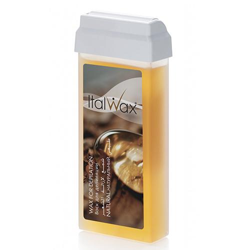 Воск для депиляции Italwax, Воск в картридже, Натуральный, 100 мл natural.jpg