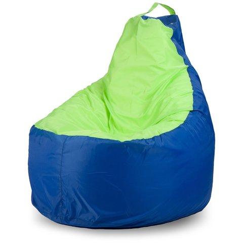 Кресло-мешок «Комфорт» Синий и Лайм