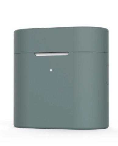Чехол на Xiaomi Airdots Pro 2 силиконовый (темно-зеленый)