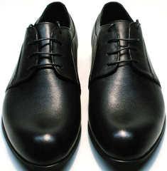Черные вечерние туфли на свадьбу мужские Ikoc 060-1 ClassicBlack.