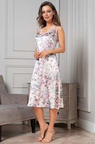 Длинная шелковая сорочка Миракли (70% шелк)