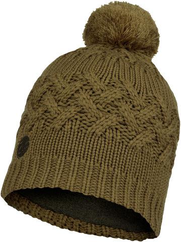 Шапка вязаная с флисом Buff Hat Knitted Polar Savva Bark фото 1