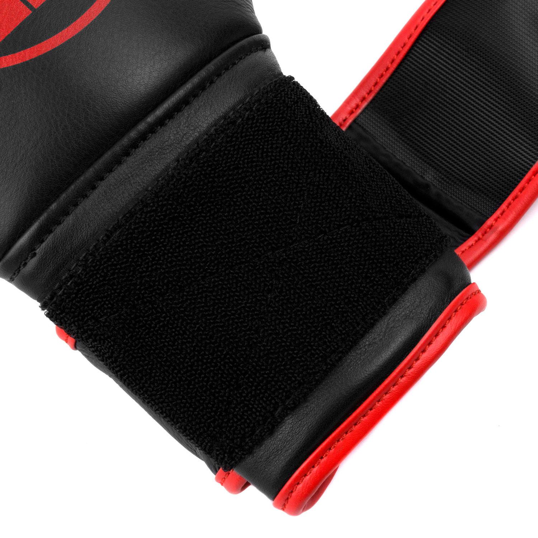Перчатки Dozen Monochrome Black/Red липучка петли