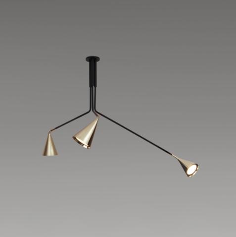 Подвесной светильник GORDON561,15 A,B,C, Италия