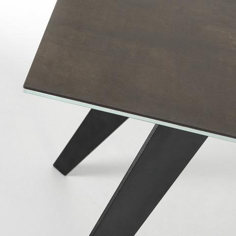 Стол Nack 200x100 керамика антрацитовый