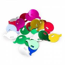 Конфетти шарики ассорти 17гр,шары 0,5 см