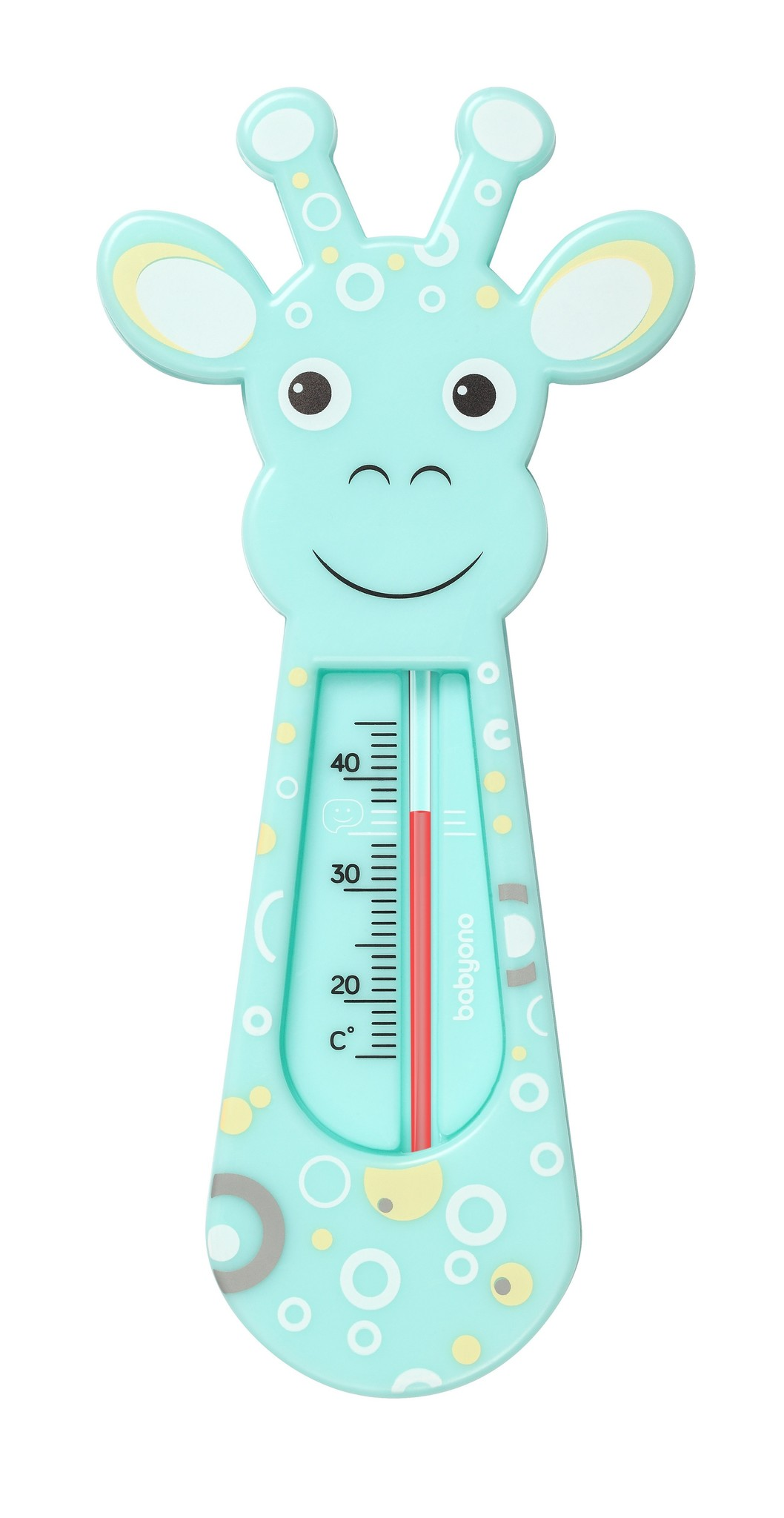 BabyOno - Термометр для купания - Жирафик, (мята)