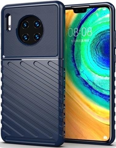 Чехол для Huawei Mate 30 цвет Blue (синий), серия Onyx от Caseport