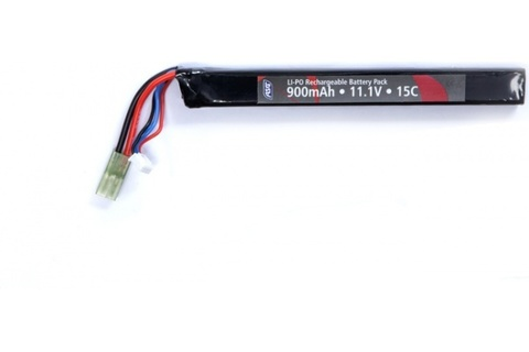 Аккумулятор для страйкбольного привода 11,1V 900mAh LI-PO single-stick (артикул 18569)