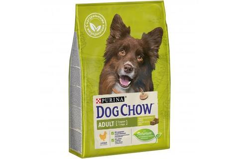 Сухой корм Purina Dog Chow Adult для взрослых собак, курица