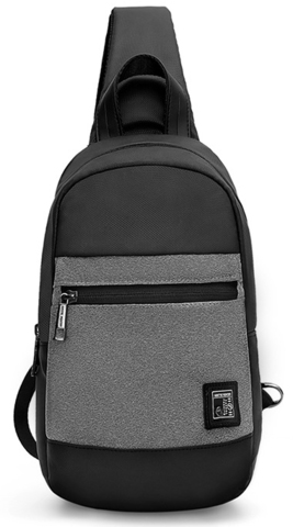 Однолямочный рюкзак ARCTIC HUNTER XB0060 Серый