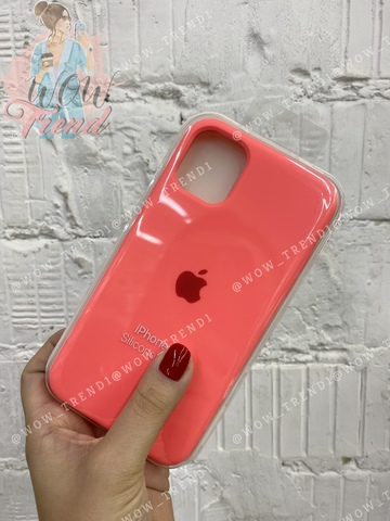 Чехол iPhone 11 Silicone Case /coral/ коралл 1:1