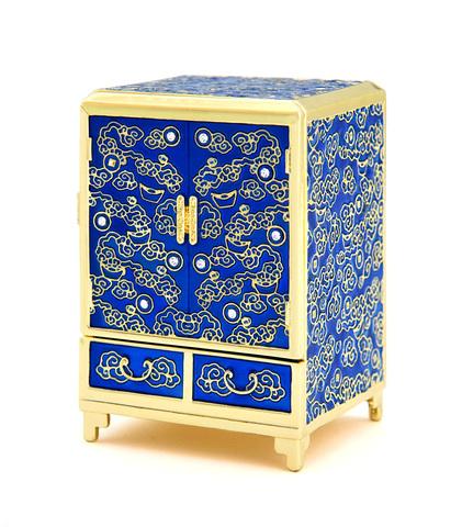 Шкаф богатства синий