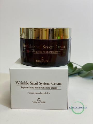 The Skin House Крем антивозрастной с улиточным муцином - Wrinkle snail system cream, 100мл