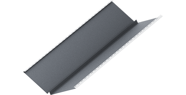 Планка ендовы внутреннего типа MOD Dmatt RKS 25, BUDMAT