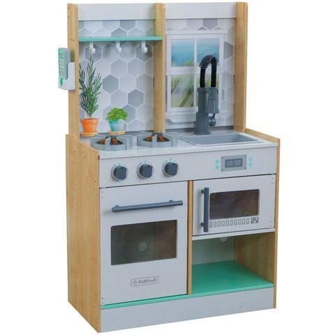 KidKraft Давай готовить натуральная - детская интерактивная кухня 53433_KE