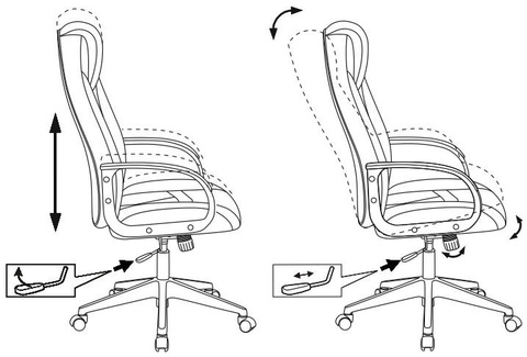 Кресло игровое Zombie VIKING-8N