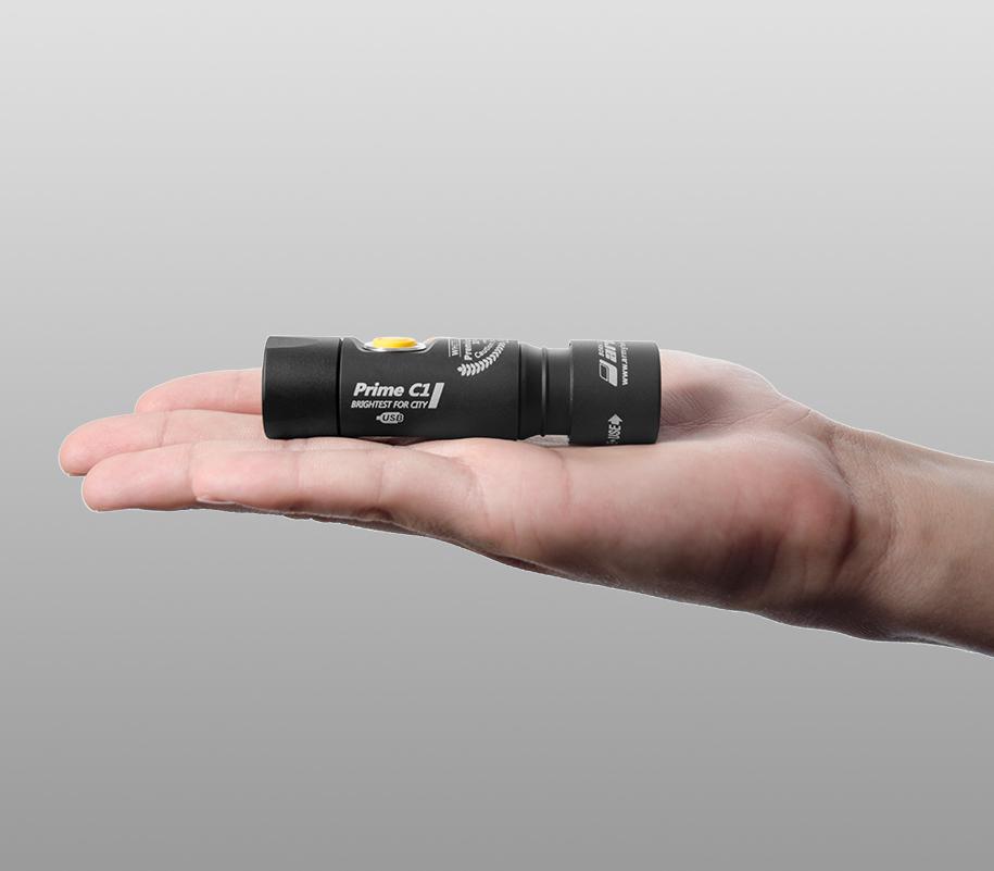 Фонарь на каждый день Armytek Prime C1 Magnet USB (тёплый свет) - фото 2