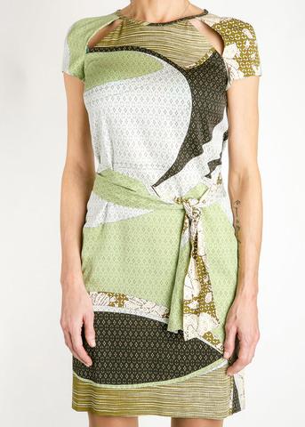 Платье из шелка EMILIO PUCCI