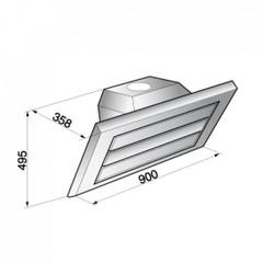Вытяжка Korting KHC 9959 X схема