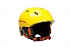 Горнолыжный шлем Blizzard Demon junior neon yellow/colorfull puzzles - 2