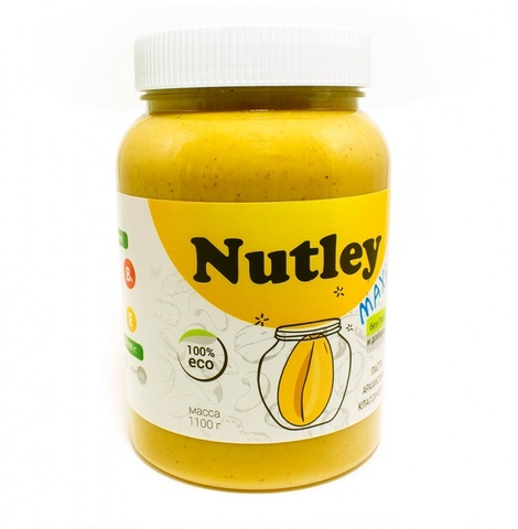 Паста арахисовая классическая Nutley, 1кг